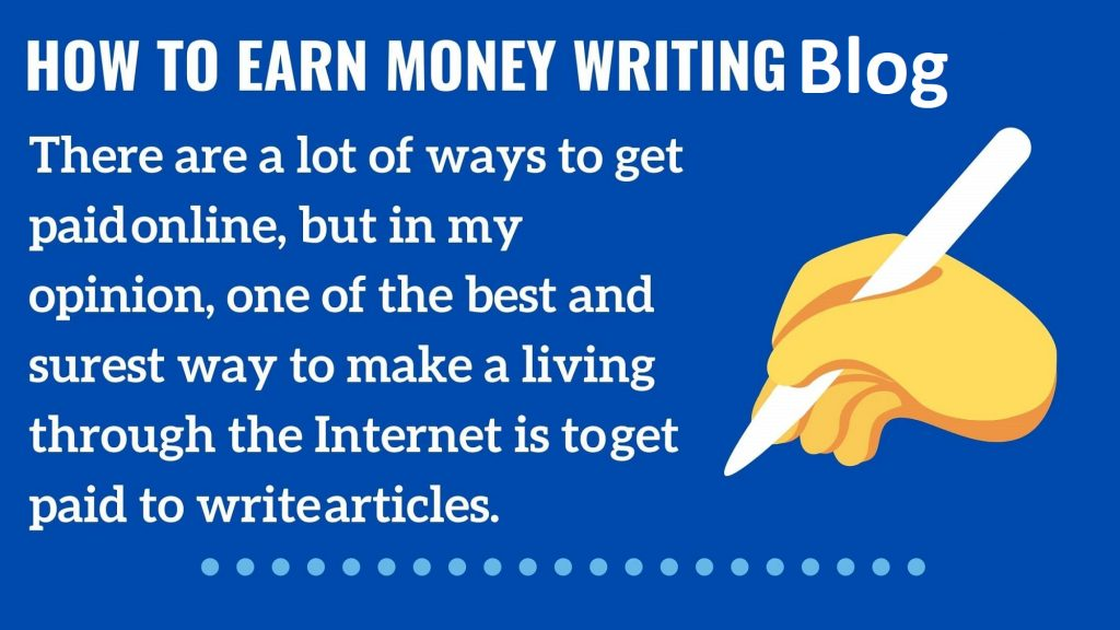 How-to-earn-money-writing-blogging